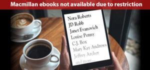 Macmillan ebooks not available
