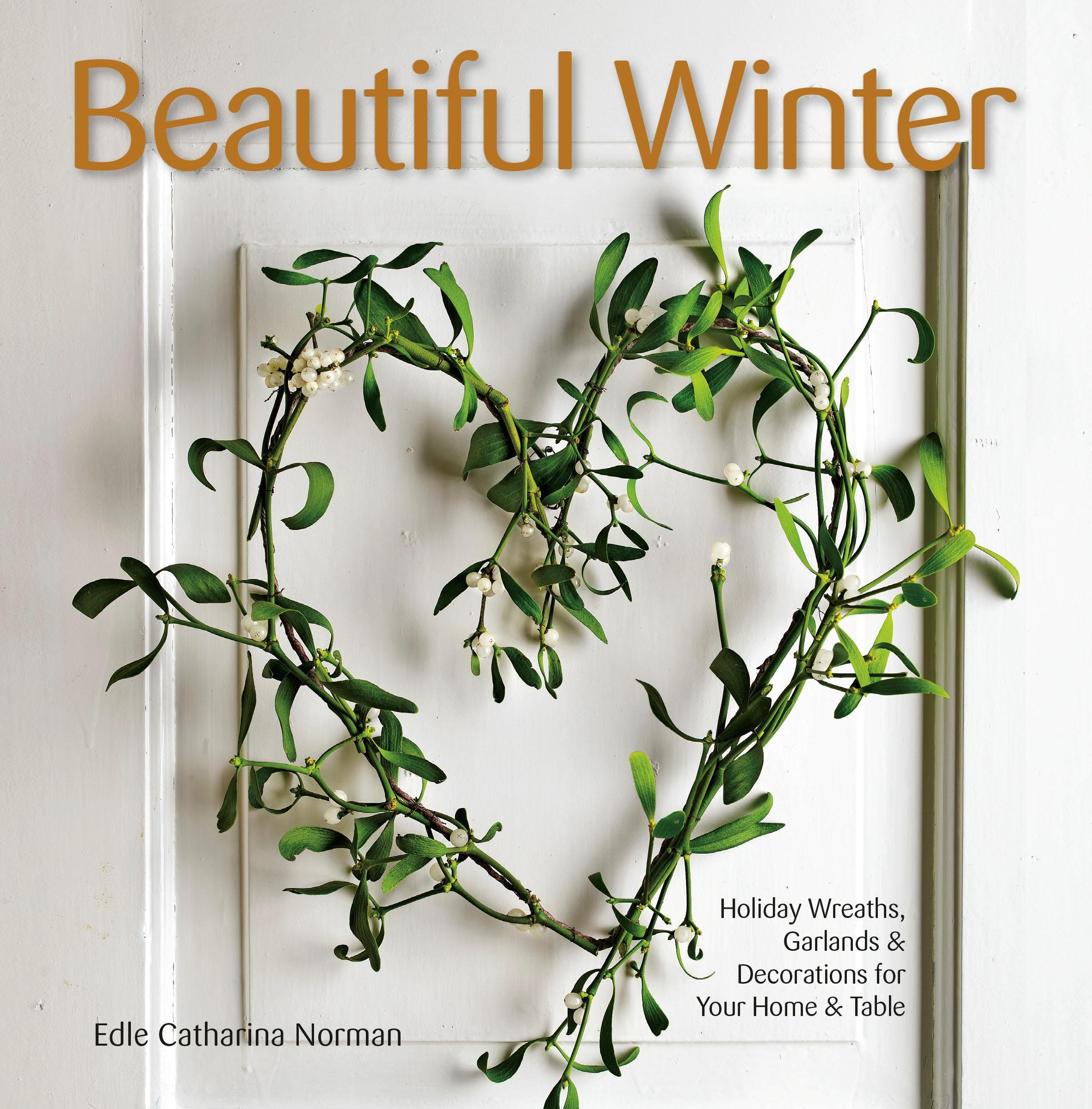 book cover with a heart wreath