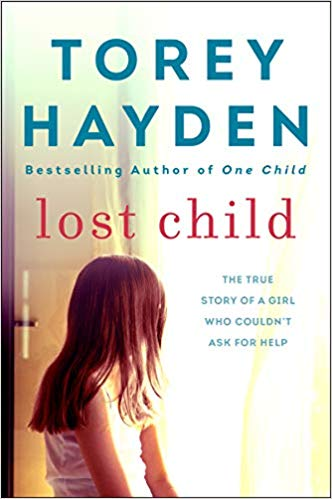 Book cover Lost Child - child looking away