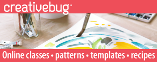 Creativebug. Online classes, patterns, templates, recipes