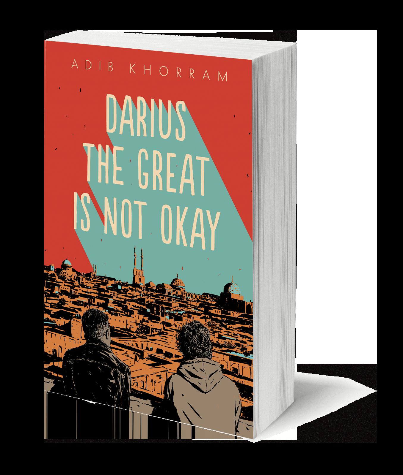 book cover Darius the Great is Not Okay