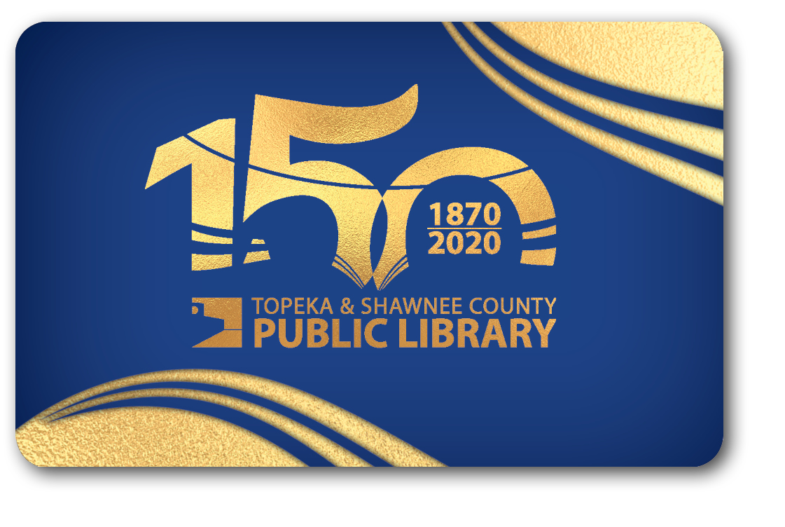 image of 150th library card