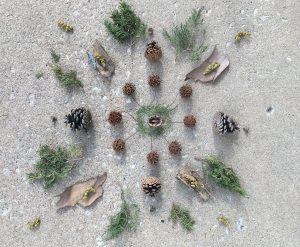 natural materials in a circular design