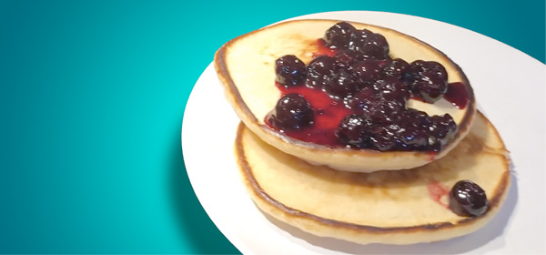 Lemon Berry Pancake