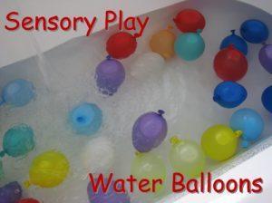 Water balloon bath