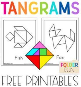 Tangram Pieces and Mats