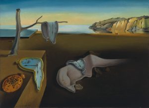 """This image is used to show an example of surrealism in art and literature. Salvador Dalí's """"The Persistance of Memory"""" is used specifically to show what a dream state can look like visually."""