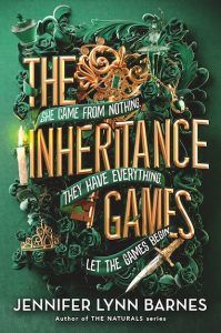 book cover of the inheritance games