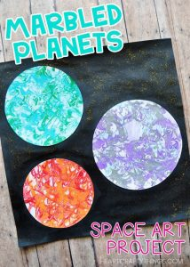 Marbled Planets