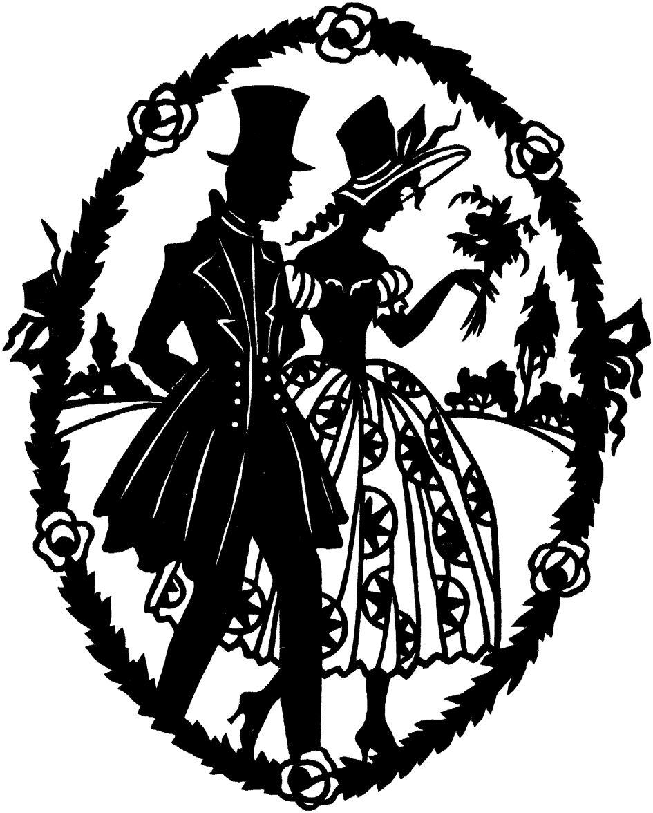 Victorian Silhouette