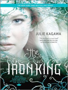 book cover of the iron king