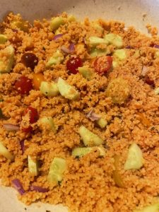 small couscous salad