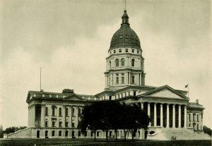 Kansas State Capitol historic photo