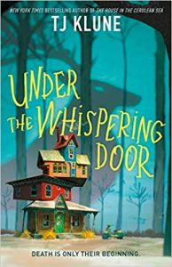 book cover Under the Whispering Door